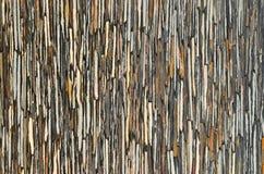 Slate stone wall surface Stock Image