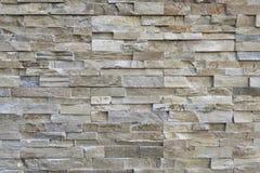 Slate stone wall surface. Pattern of decorative slate stone wall surface Stock Image