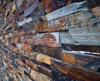 Slate Stone wall texture background. Slate Stone Wall. stock photo