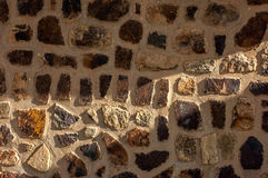 Slate stone wall textured background. Stock Photography