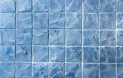 Slate texture vinyl flooring a popular choice for modern kitchen Stock Photos