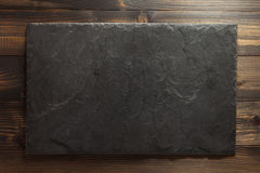 Slate texture at wood Royalty Free Stock Photography