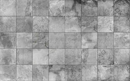 Slate tile ceramic seamless texture. Covering mosaic tile lay texture for 3d graphics Stock Photo