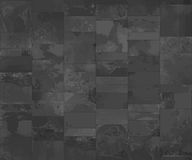 Slate tile, seamless texture dark gray map, vector illustration Royalty Free Stock Images