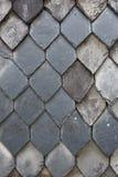 Slate tiles wall Royalty Free Stock Photography