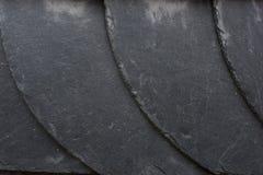 Slate tiles wall Royalty Free Stock Image