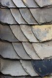 Slate tiles wall Stock Photo