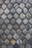Slate tiles wall Stock Photos