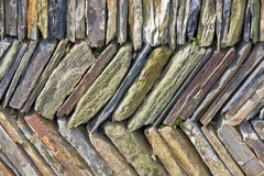 Slate wall abstract Royalty Free Stock Photos