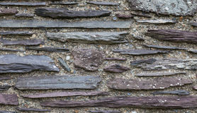 Slate Wall Stock Photo