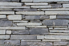 Slate wall background Stock Images