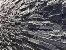 Slate wall background Stock Image