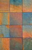 Slate wall background vert Stock Photos