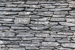 Slate Wall Texture Royalty Free Stock Image