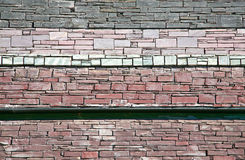 Slate wall textured background Stock Photos