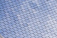 slated крыша Стоковое Фото