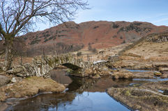 Slaters Bridge in Little Langdale Stock Photography