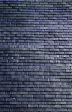 Slates on a roof Stock Photo