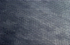 Slates on a roof Stock Image