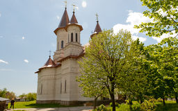 Slatioara Monastery Royalty Free Stock Images