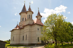 Slatioara Monastery Royalty Free Stock Photo