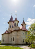 Slatioara Monastery Royalty Free Stock Photos