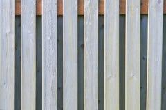 Slats του λευκαμένου φράκτη Στοκ Φωτογραφίες