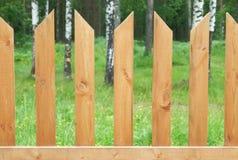slats φραγών ξύλινα Στοκ Εικόνες