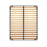 Slats Bed Frame Royalty Free Stock Photography