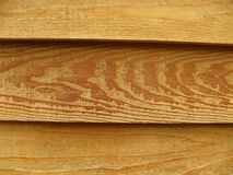 Slats of natural wood Stock Photo