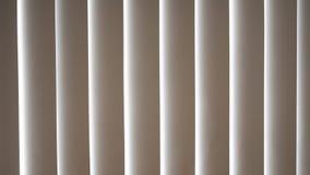 Slats of white wooden venetian blind, sun-blind. Royalty Free Stock Photos