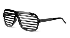 Slatted sunglasses Stock Photos