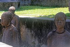 Slav- Monument Zanzibar Royaltyfria Foton