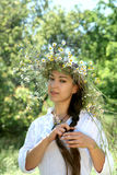 The Slav. Summer Royalty Free Stock Photos