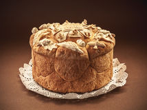 Slava Cake Decoration Stockbild