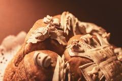 Slava Cake Decoration Royalty Free Stock Images