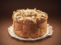 Slava torta dekoracja Obraz Stock