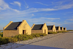 Slave Huts Royalty Free Stock Photography