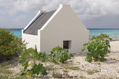 Slave huts, Bonaire, ABC Islands Royalty Free Stock Photography