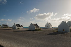 Slave huts Stock Images