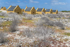 Slave huts Royalty Free Stock Images