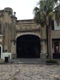 Slave Mart Museum Charleston. This museum tells the story of the slave trade in the US Stock Photo