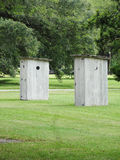 Slave Outhouses Royalty Free Stock Photo