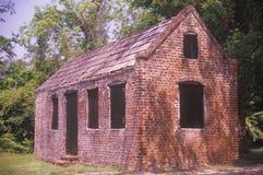 Slave quarters in Charleston, SC, Boone Hall Plantation Stock Photos