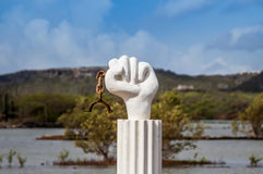 Slave Rebellion Statue Royalty Free Stock Photo