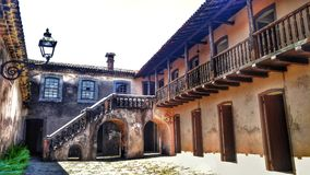 Slave& x27;s House. Slave trading house. House built by Jorge Torres in 1818 to commercialize slaves. Brazil-Areia, PB stock photography