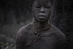 Slave. Trade memorial in Stone Town, Zanzibar Royalty Free Stock Images