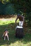 A slave washing royalty free stock photos