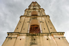 Slave Watch Tower - Manaca Iznaga, Cuba. Historic slave watch tower in Manaca Iznaga, Valle de los Ingenios, Trinidad, Cuba. The Manaca Iznaga Tower is the Royalty Free Stock Photo
