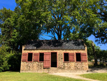 Slaves house at Boone Hall Plantation. stock photography